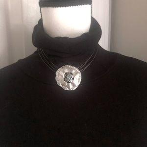 Swarovski Sand Dollar Necklace